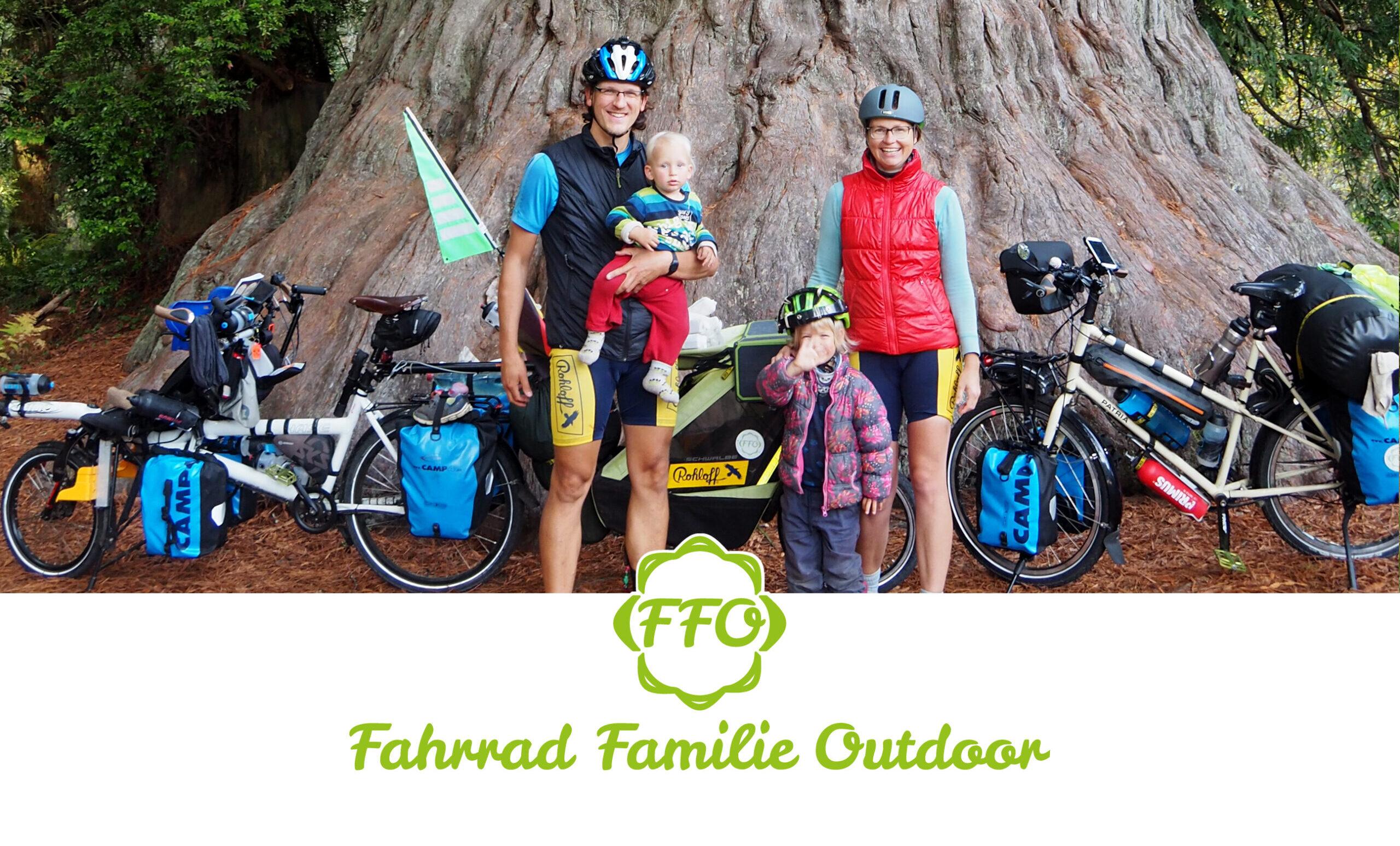 Fahrrad Familie Outdoor